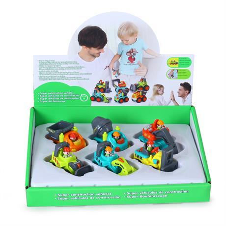 Набор Hola Toys Строительные машинки 6 шт. (3116C)