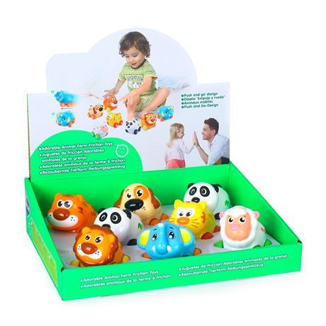Игрушка Hola Toys Веселый зоопарк 8 шт. (376)