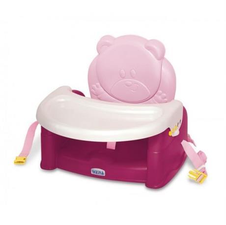 Стульчик-бустер для кормления Weina Teddy Bear, красный (4019.02)