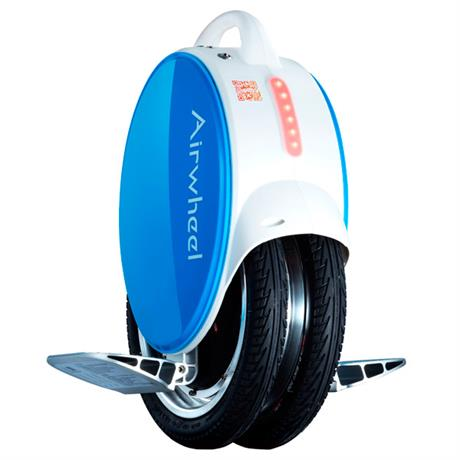 Моноколесо AIRWHEEL Q5+ 170WH (белый/синий) - фото 1