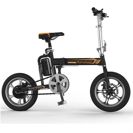 Электровелосипед AIRWHEEL R5T 214,6WH (черный) - фото 2