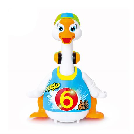 Игрушка Hola Toys Танцующий гусь (828-blue)