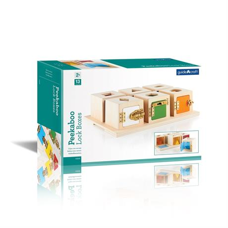 Игра Guidecraft Manipulatives Что в коробке (G5058) - фото 4
