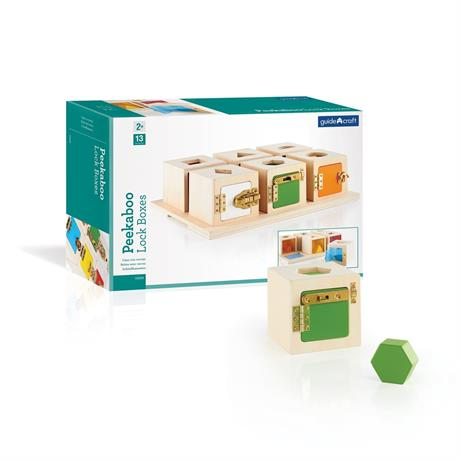Игра Guidecraft Manipulatives Что в коробке (G5058) - фото 0