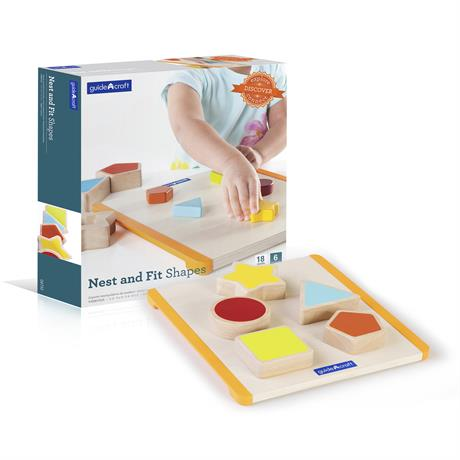 Сортер Guidecraft Manipulatives Фигуры (G6733) - фото 0