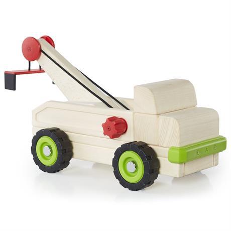 Игрушка Guidecraft Block Science Trucks Большой эвакуатор (G7532)